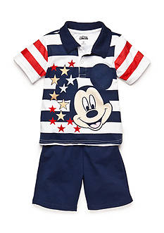 Disney Mickey Mouse Americana Short Set Toddler Boys
