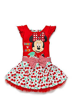 Disney 2-Piece Minnie Mouse 'Sweet N Juicy' Top and Cherry Scooter Set Toddler Girls