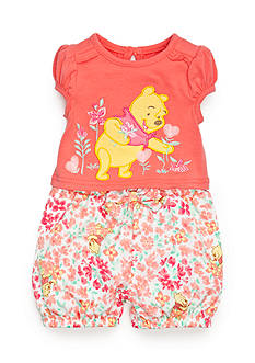 Disney 2-Piece Winnie the Pooh Shirt and Shorts Set