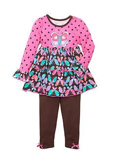 Nannette Butterfly 2-Piece Set Toddler Girls