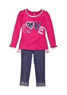 Nannette Love 2-Piece Set Toddler Girls