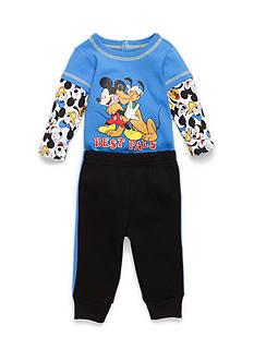 Disney 2-Piece Mickey Creeper and Jogger Pants Set