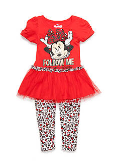 Disney 2-Piece Minnie Mouse 'Follow Me' Set Toddler Girls