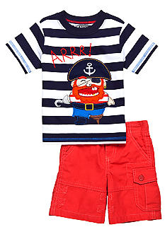 Nannette 2-Piece Arrr Short Set