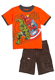Nannette Avengers 2-Piece  Set Toddler Boys