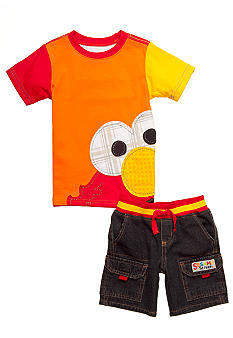 Nannette 2-Piece ELmo Short Set