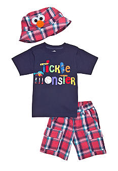 Sesame Street Elmo 3-Piece Set Toddler Boys