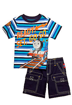Thomas & Friends Ready, Set, Go 2-Piece Short Set Toddler Boys