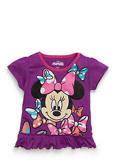 Disney Minnie Mouse Ruffle Top Toddler Girls