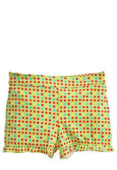 J Khaki Polka Dot Shorts