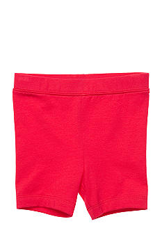 J Khaki Knit Biker Shorts