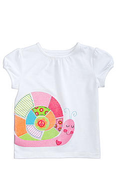 J Khaki Snail Tee Toddler Girls