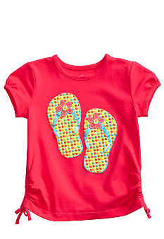 J Khaki Flip-Flop Tee Toddler Girls