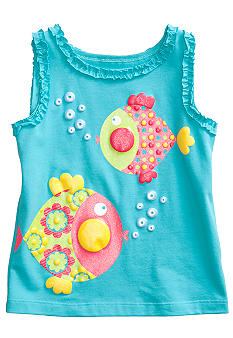 J Khaki Blowfish Tank Toddler Girls