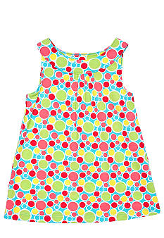 J Khaki Multi Dot Babydoll Toddler Girls