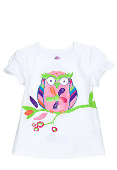 J Khaki Owl Tee Toddler Girls