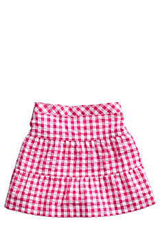 J Khaki Gingham Scooter Toddler Girls