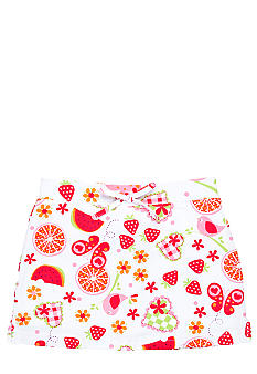 J Khaki Fruit Print Scooter Toddler Girls