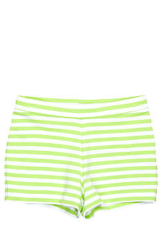 J Khaki Knit Stripe Short Toddler Girls