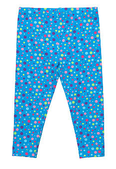 J Khaki Printed Legging Toddler Girls