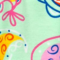 Baby & Kids: J Khaki™ Girls: Mint Glow J Khaki™ Stripe to Paisley Babydoll Top Toddler Girls