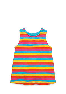 J Khaki™ Rainbow Stripe Tank Toddler Girls