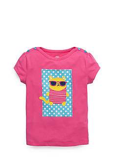 J Khaki™ Fat Cat Tee Toddler Girls