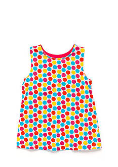 J Khaki™ Party Dot Tank Toddler Girls