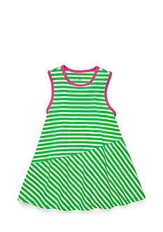 J Khaki™ Striped Babydoll Tank Top Toddler Girls