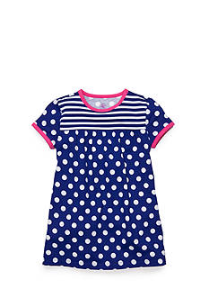 J Khaki™ Dot Babydoll Top Toddler Girls