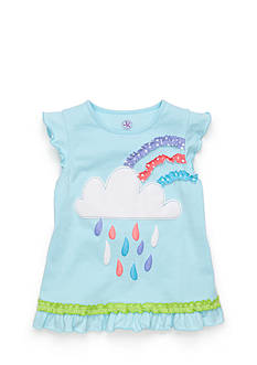 J Khaki™ Short Sleeve Cloud Top Toddler Girls