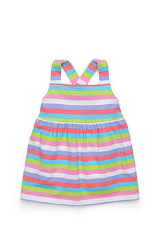 J Khaki™ Sleeveless Stripe Babydoll Top Toddler Girls