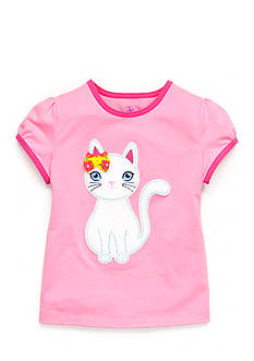 J Khaki™ Kitty Top Toddler Girls
