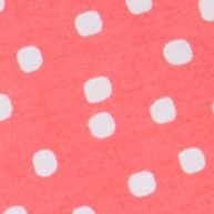 Baby & Kids: J Khaki™ Girls: Salmon Sun J Khaki™ Knit Polka Dot Shorts Toddler Girls