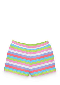 J Khaki™ Knit Striped Shorts Toddler Girls