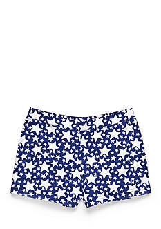 J Khaki™ Star Print Shorts Toddler Girls