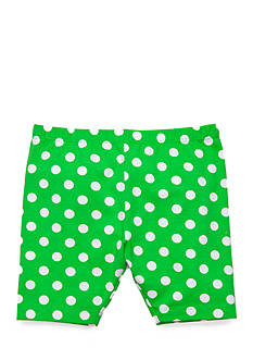 J Khaki™ Dot Biker Shorts Toddler Girls