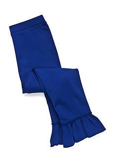 J Khaki™ Solid Ruffle Leggings Toddler Girls