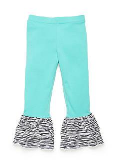 J Khaki™ Animal Ruffle Pants Toddler Girls