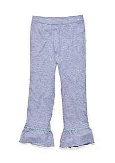 J Khaki™ Solid Ruffle Pants Toddler Girls