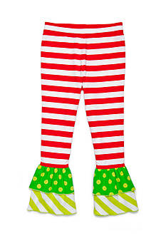J. Khaki Ruffle Pants Girls Toddler Girls