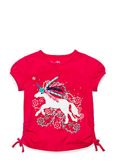 J Khaki™ Unicorn Top Toddler Girls