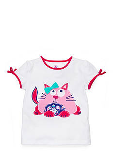 J Khaki™ Fat Cat Top Toddler Girls