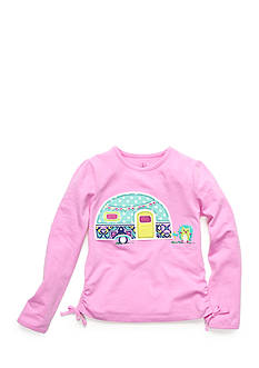 J Khaki™ Patterned Camper Top Toddler Girls