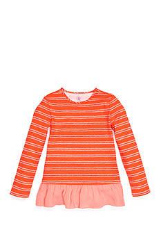 J. Khaki Stripe Babydoll Top Toddler Girls