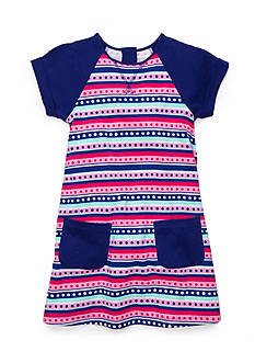 J Khaki™ Stripe Knit Dress Toddler Girls