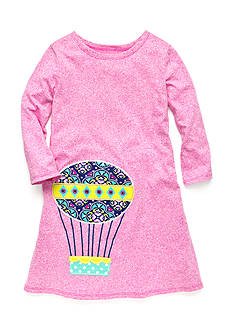 J Khaki™ Hot Air Balloon Shift Dress Toddler Girls