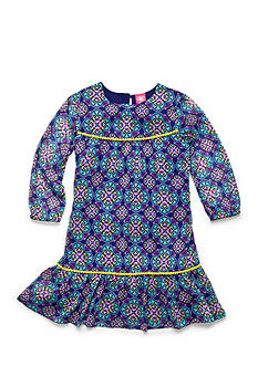 J Khaki™ Medallion Print Dress Toddler Girls