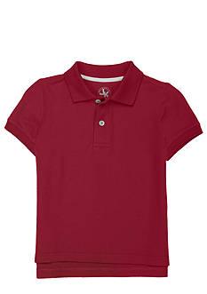 J Khaki™ Solid Basic Pique Polo Toddler Boy