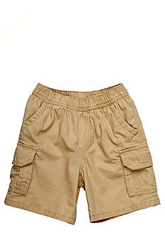 J Khaki Pull On Cargo Short Toddler Boys